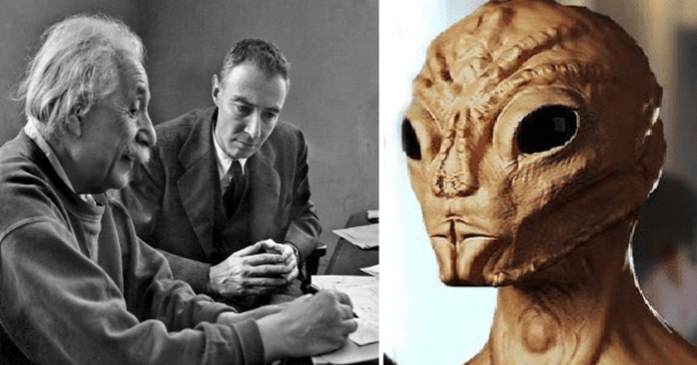 Einstein Reveals The Existence Of Aliens On Earth In This Document Written With Oppenheimer